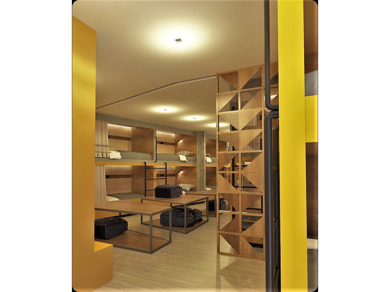 inside photo of yello hotel dormitel