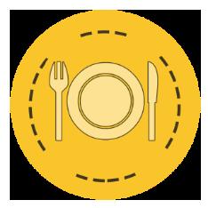 free breakfast icon